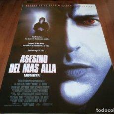 Cine: ASESINO DEL MÁS ALLÁ - JEFF GOLDBLUM, CHRISTINE LAHTI, ALFRED MOLINA - POSTER ORIGINAL COLUMBIA 1995. Lote 235574970