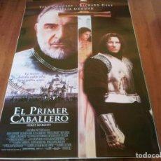 Cine: EL PRIMER CABALLERO - RICHARD GERE, SEAN CONNERY, JULIA ORMOND - POSTER ORIGINAL COLUMBIA 1995. Lote 235575980