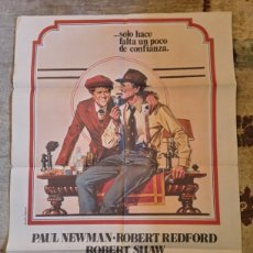 Cine: CARTEL EL GOLPE (1974) ROBERT REDFOD, PAUL NEWMAN. Lote 235634245