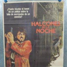 Cine: HALCONES DE LA NOCHE. SYLVESTER STALLONE. AÑO 1981. POSTER ORIGINAL. Lote 235669790
