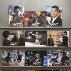 Cinema: AAS34 MUERE OTRO DIA JAMES BOND 007 PIERCE BROSNAN SET COMPLETO 12 FOTOCROMOS ORIGINAL ESTRENO. Lote 235737350