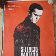 Cine: EL SILENCIO DEL PANTANO - APROX 70X100 CARTEL ORIGINAL CINE (L81). Lote 235842705