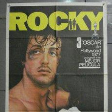 Cine: AAS43 ROCKY SYLVESTER STALLONE BOXEO POSTER ORIGINAL 70X100 ESPAÑOL. Lote 235936590