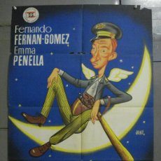 Cine: AAS46 EL GUARDIAN DEL PARAISO FERNANDO FERNAN GOMEZ JANO POSTER ORIGINAL 70X100 ESTRENO LITOGRAFIA. Lote 235937925