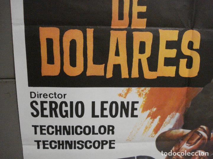 Cine: AAS56 POR UN PUÑADO DE DOLARES CLINT EASTWOOD SERGIO LEONE JANO POSTER ORIGINAL 70X100 ESPAÑOL - Foto 4 - 235941225