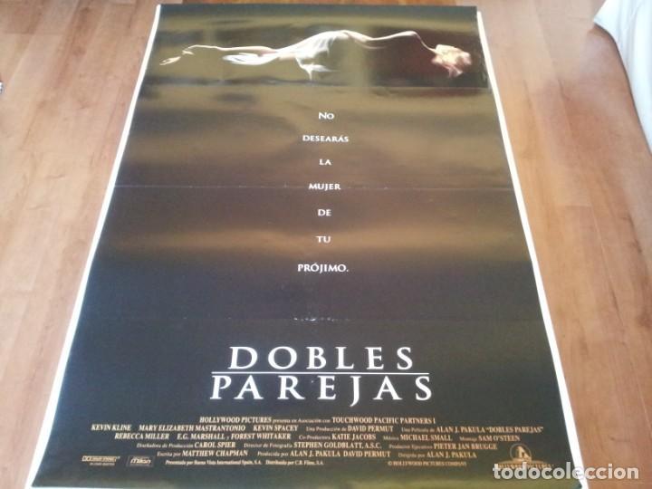 DOBLES PAREJAS - KEVIN KLINE,MARY ELIZABETH MASTRANTONIO,K. SPACEY - POSTER ORIGINAL BUENAVISTA 1992 (Cine - Posters y Carteles - Suspense)