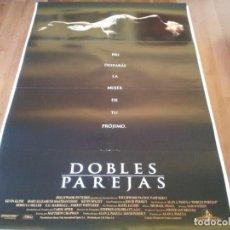 Cine: DOBLES PAREJAS - KEVIN KLINE,MARY ELIZABETH MASTRANTONIO,K. SPACEY - POSTER ORIGINAL BUENAVISTA 1992. Lote 236011880
