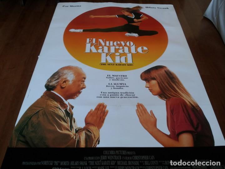 EL NUEVO KARATE KID - HILARY SWANK, PAT MORITA, MICHAEL IRONSIDE - POSTER ORIGINAL COLUMBIA 1994 (Cine - Posters y Carteles - Acción)