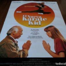 Cine: EL NUEVO KARATE KID - HILARY SWANK, PAT MORITA, MICHAEL IRONSIDE - POSTER ORIGINAL COLUMBIA 1994. Lote 236020000