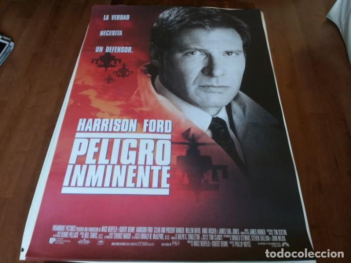 PELIGRO INMINENTE - HARRISON FORD, WILLEM DAFOE,ANNE ARCHER,THORA BIRCH - POSTER ORIGINAL U.I.P 1994 (Cine - Posters y Carteles - Acción)
