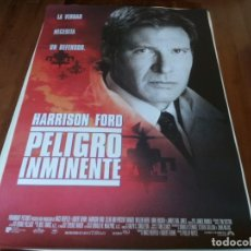 Cine: PELIGRO INMINENTE - HARRISON FORD, WILLEM DAFOE,ANNE ARCHER,THORA BIRCH - POSTER ORIGINAL U.I.P 1994. Lote 236025220