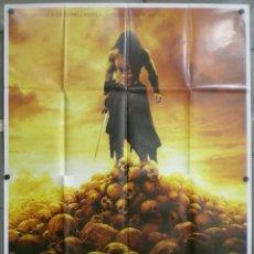 Cine: UT31D CONAN EL BARBARO JASON MOMOA MARCUS NISPEL 3D POSTER ORIGINAL ITALIANO 140X200. Lote 236026400