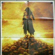 Cine: QM55 CONAN EL BARBARO JASON MOMOA MARCUS NISPEL 3D POSTER ORIGINAL ITALIANO 100X140. Lote 236027815