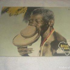 Cine: AFRICA AMA. ALBERTO GRIMALDI . COSTUMBRES SEXUALES DE AFRICA PRIMITIVA , CARTON 38 X 28 CM.. Lote 236053960