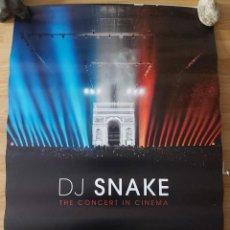 Cine: DJ SNAKE - APROX 70X100 CARTEL ORIGINAL CINE (L81). Lote 236056850