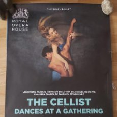 Cine: OPERA:THE CELLIST DANCES AT A GATHERING - APROX 70X100 CARTEL ORIGINAL CINE (L81). Lote 236057610