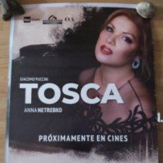 Cine: OPERA: TOSCA - APROX 70X100 CARTEL ORIGINAL CINE (L81). Lote 236058010