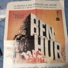 Cine: A PARTIR DE ATENCIÓN DE LA BEN HUR POR CHARLTON HESTON VIDEOMAN INTERNACIONAL 42X57. Lote 236113365