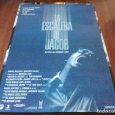 Cine: LA ESCALERA DE JACOB - TIM ROBBINS, ELIZABETH PEÑA, DANNY AIELLO - POSTER ORIGINAL UNION 1990. Lote 236120155