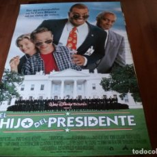 Cine: EL HIJO DEL PRESIDENTE - SINBAD, BROCK PIERCE, BLAKE BOYD, ART LAFLEUR - POSTER ORIGINAL DISNEY 1996. Lote 236120885