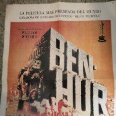 Cine: BEN HUR POR CHARLTON HESTON VIDEOMAN INTERNACIONAL 42X57. Lote 236128505