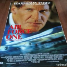 Cine: AIR FORCE ONE - HARRISON FORD, GARY OLDMAN, GLENN CLOSE - POSTER ORIGINAL BUENAVISTA 1997. Lote 236134305