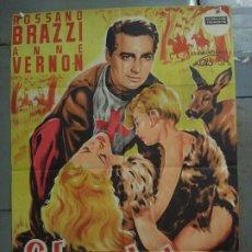 Cine: AAS66 LA LEYENDA DE GENOVEVA ROSSANO BRAZZI ANNE VERNON POSTER ORIGINAL 70X100 ESTRENO LITOGRAFIA. Lote 236135950