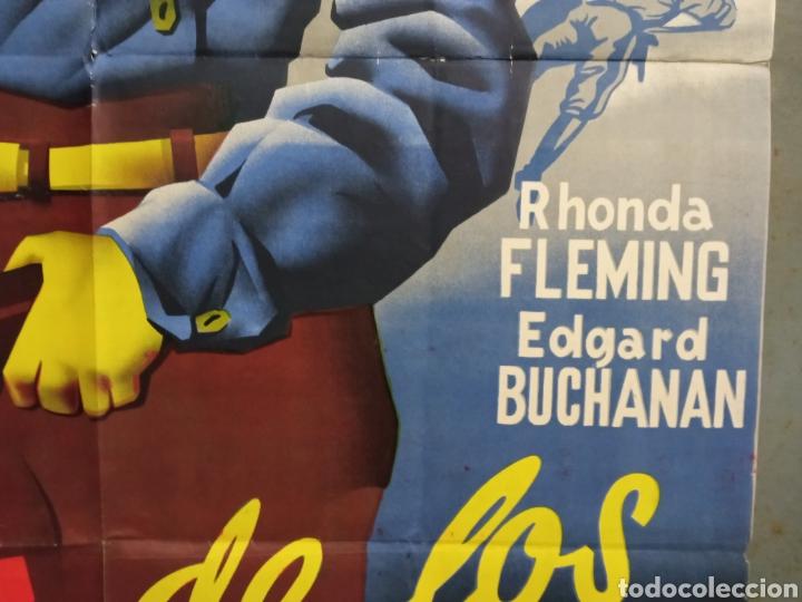 Cine: AAS86 LA CALLE DE LOS CONFLICTOS RANDOLPH SCOTT RAMON POSTER ORIGINAL ESTRENO 70X100 LITOGRAFIA - Foto 8 - 236155335