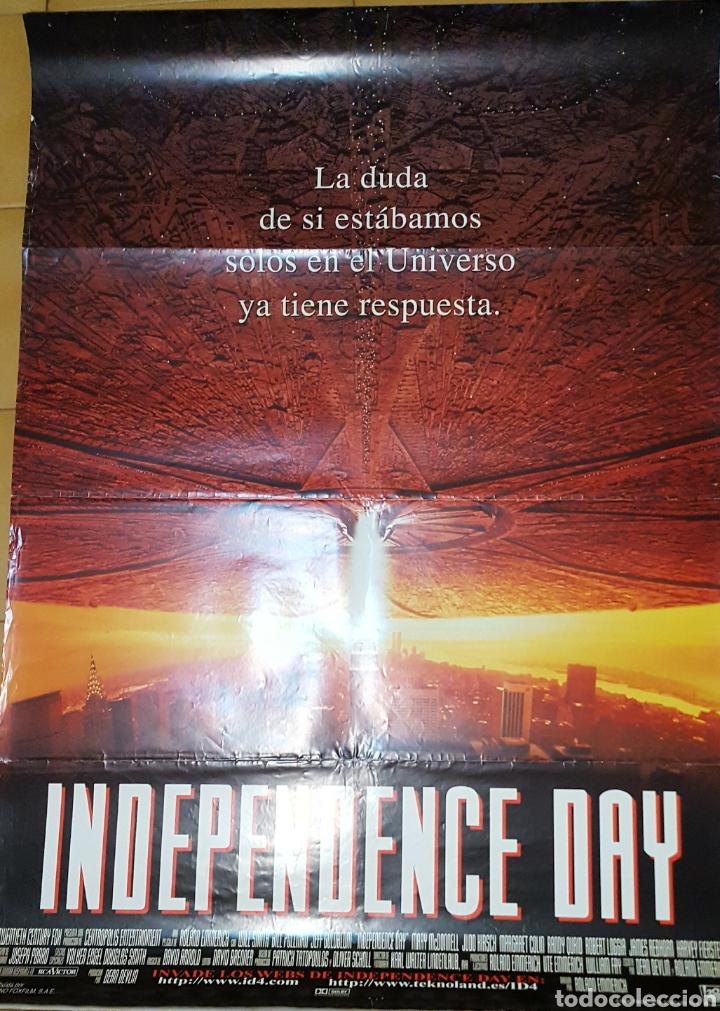CARTEL DE CINE - INDEPENDENCE DAY - 70X100 - 1996 (Cine - Posters y Carteles - Ciencia Ficción)