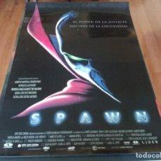 Cine: SPAWN - MICHAEL JAI WHITE, JOHN LEGUIZAMO, MARTIN SHEEN, THERESA RANDLE - POSTER ORIGINAL AURUM 1997. Lote 236218950