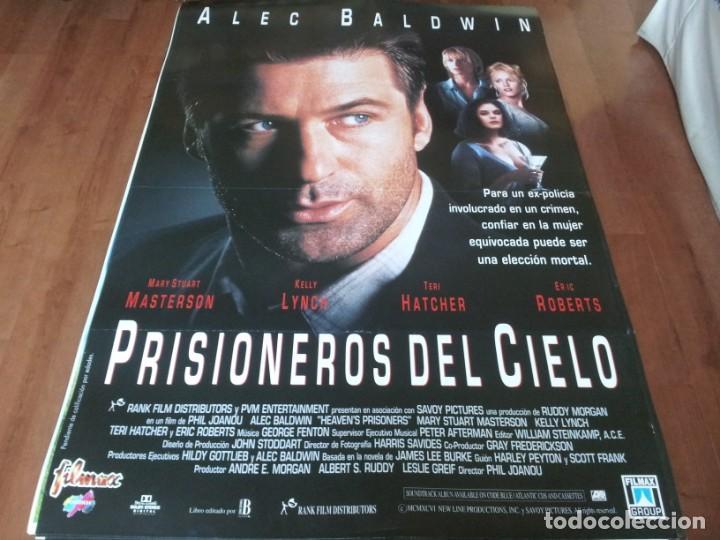 PRISIONEROS DEL CIELO - ALEC BALDWIN,MARY STUART MASTERSON,KELLY LYNCH - POSTER ORIGINAL FILMAX 1995 (Cine - Posters y Carteles - Suspense)