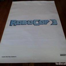 Cine: ROBOCOP 3 - ROBERT JOHN BURKE, NANCY ALLEN, RIP TORN, MAKO - POSTER ORIGINAL COLUMBIA 1993 PREVIO. Lote 236224100