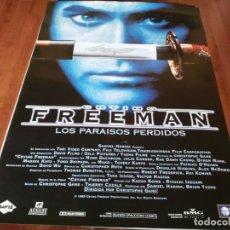 Cine: CRYING FREEMAN LOS PARAÍSOS PERDIDOS - MARK DACASCOS,TCHÉKY KARYO - POSTER ORIGINAL TRIPICTURES 1995. Lote 271413208