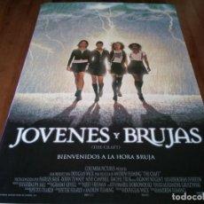 Cine: JÓVENES Y BRUJAS - ROBIN TUNNEY, FAIRUZA BALK, NEVE CAMPBELL - POSTER ORIGINAL COLUMBIA 1996. Lote 283518723