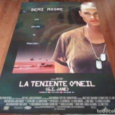 Cine: LA TENIENTE O'NEIL - DEMI MOORE, VIGGO MORTENSEN, ANNE BANCROFT - POSTER ORIGINAL BUENAVISTA 1997. Lote 236236465
