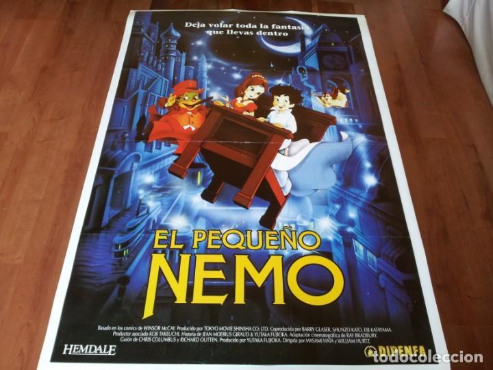 EL PEQUEÑO NEMO - ANIMACIÓN - DIR. MASAMI HATA, WILLIAM T. HURTZ - POSTER ORIGINAL DIPENFA 1989 (Cine - Posters y Carteles - Infantil)
