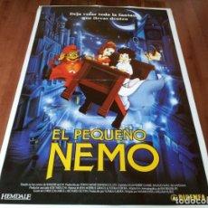 Cine: EL PEQUEÑO NEMO - ANIMACIÓN - DIR. MASAMI HATA, WILLIAM T. HURTZ - POSTER ORIGINAL DIPENFA 1989. Lote 236237980