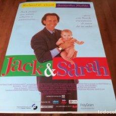 Cine: JACK Y SARAH - RICHARD E. GRANT, SAMANTHA MATHIS, JUDI DENCH - POSTER ORIGINAL SOGEPAQ 1995. Lote 236241605