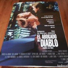 Cine: EL ABOGADO DEL DIABLO - REBECCA DE MORNAY, DON JOHNSON,JACK WARDEN - POSTER ORIGINAL BUENAVISTA 1993. Lote 236242550
