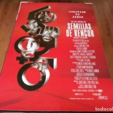 Cine: SEMILLAS DE RENCOR - LAURENCE FISHBURNE, KRISTY SWANSON, ICE CUBE - POSTER ORIGINAL COLUMBIA 1995. Lote 236244920