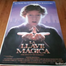 Cine: LA LLAVE MÁGICA - HAL SCARDINO, LITEFOOT, LINDSAY CROUSE,DAVID KEITH - POSTER ORIGINAL COLUMBIA 1995. Lote 236246800