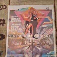 Cine: CARTEL LA ESPÍA QUE ME AMO ROGER MOORE JAMES BOND AGENTE 007 BARBARA BACH. Lote 236252550