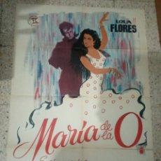 Cine: CARTEL ORIGINAL ESPAÑOL MARIA DE LA O, RAMON TORRADO, LOLA FLORES, MANUEL LUNA, ANTONIO GONZÁLEZ. Lote 236253075