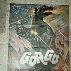 Cine: CARTEL ORIGINAL ESPAÑOL GORGO, BILL TRAVERS,. Lote 236255245