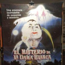 Cine: EL MISTERIO DE LA DAMA BLANCA - CARTEL DE CINE ORIGINAL 70X100. Lote 236262000