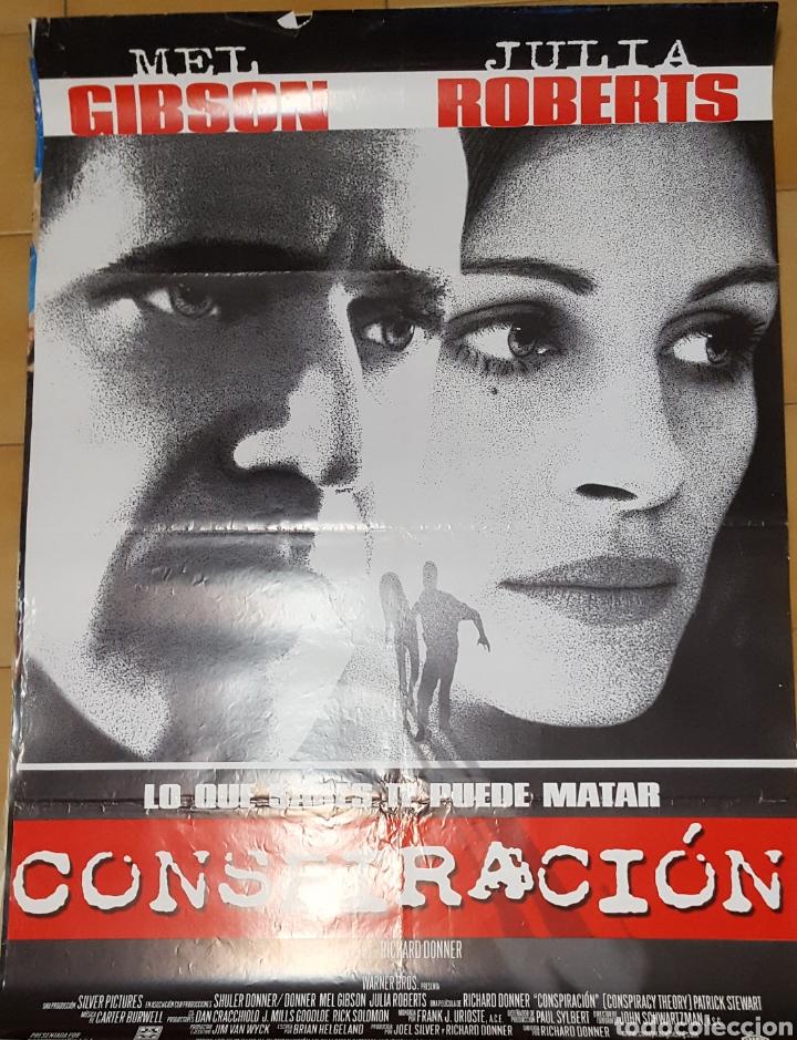 CARTEL DE CINE - CONSPIRACION - 70X100 - 1997 (Cine - Posters y Carteles - Suspense)