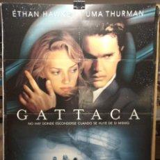 Cine: GATTACA - ETHAN HAWKE - UMA THURMAN - CARTEL DE CINE ORIGINAL 70X100. Lote 236268785