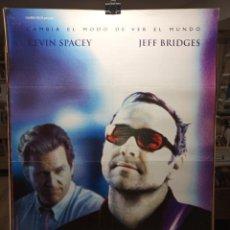 Cine: K-PAX - KEVIN SPACEY - JEFF BRIDGES - CARTEL DE CINE ORIGINAL 70X100. Lote 236269265