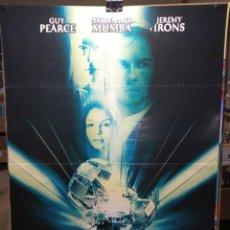 Cine: LA MAQUINA DEL TIEMPO - GUY PEARCE - JEREMY IRONS - CARTEL DE CINE ORIGINAL 70X100. Lote 236269485