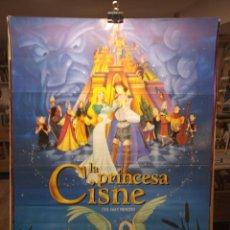 Cine: LA PRINCESA CISNE - CARTEL DE CINE ORIGINAL 70X100. Lote 236270535